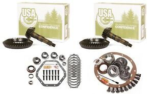 73 88 Gm 10 5 Chevy 14 Bolt Dana 60 4 56 Ring And Pinion Master Usa Gear Pkg