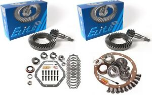 Gm 10 5 Chevy 14 Bolt Dana 60 5 13 Thick Ring And Pinion Master Elite Gear Pkg