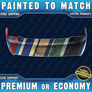New Painted To Match Rear Bumper Cover 2008 2012 Chevy Malibu W License Holes