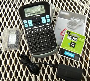 Dymo Portable And Rechargable Label Maker Labelmanager 260p New In Open Box