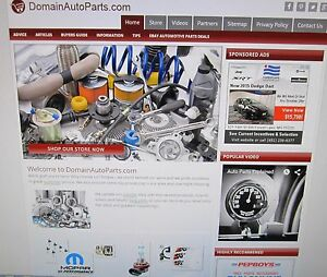 Domainautoparts com Website And Domain For Sale