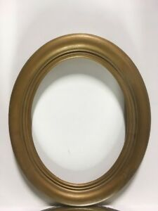 Vtg Antique Oval Victorian Picture Frame