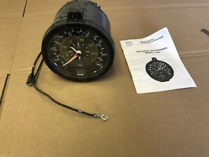 Nos Military Surplus Rat Rod Argo Tachograph Guage 24v Model 1308