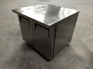 True Tuc 36 8 5 Cu Ft Stainless Steel Undercounter Refrigerator Free Shipping