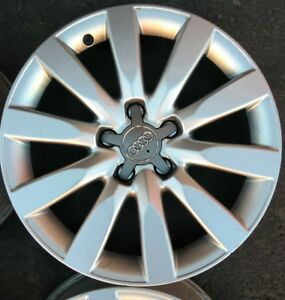17 Inch Factory Oem Audi A4 Wheels Rims Silver With Wheel Caps