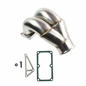 Stainless Steel 3 5 Raw Intake Elbow For 07 18 Dodge Cummins 6 7 6 7l Diesel