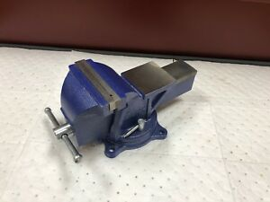 Wilton Swivel Steel Bench Vise 6 Jaw Width W Bolt Down Base C233