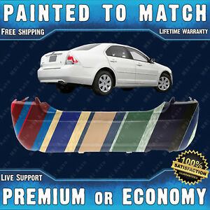 New Painted To Match Rear Bumper Cover Replacement For 2006 2009 Ford Fusion 2 3
