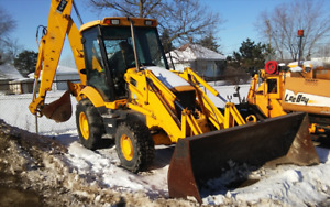 2004 Jcb 217 Backhoe comes With Jackhammer Attachment
