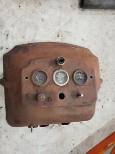 Massey Harris 44 Tractor Dash Assembly Mh Part Gauges