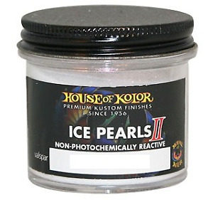 House Of Kolor Ipii07 Ice Turquoise Ii Pearl 2 Oz Flakes Hok Ipii07