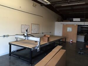 Custom 20 Cnc Router By K2cnc 20 X 5 X 8 With Split Table 10 Each