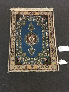 On Sale Fine Hand Knotted Persian Naein Naeen Silk Wool Rug Carpet 1 9 X2 5