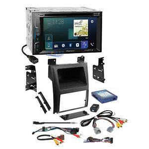 Pioneer Dvd Carplay Siriusxm Stereo Dash Kit Amp Harness For Cadillac Escalade