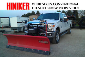 Hiniker 8 5 Commercial Snow Plow Conventional 2 Year Warranty 3 4 Ton
