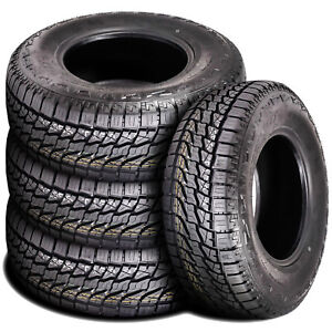 4 New Atlas Tires Priva A t P245 65r17 111t At All Terrain Tires