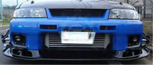 Car Carbon Front Bumper Bottom Lip Splitter Kits For Nissan Skyline R33 Gtr