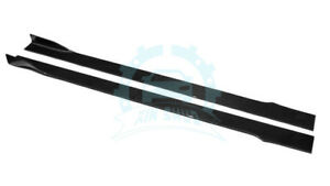 Carbon Fiber For Universal Auto Side Skirt Extension Add on Kits 205 13 9cm