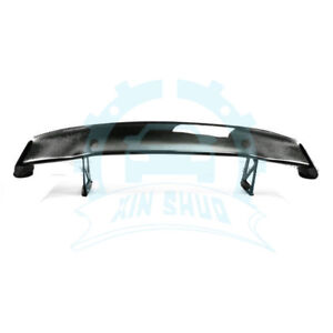 Auto Carbon Fiber Rear Spoiler Racing Drift Wing Sets For Honda S2000
