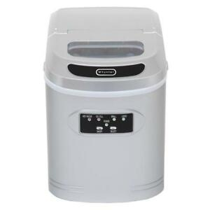 Whynter 27 Lb Compact Portable Ice Maker Home Icemaker Machine Appliance Silver