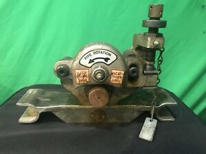 Nice Victaulic Ve226 Copper Pipe Roll Groover 2 To 6 Pipe Ridgid Roll