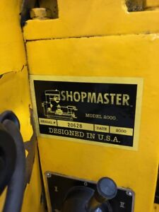 Shopmaster Model 2000 Milling Machine Lathe Drill