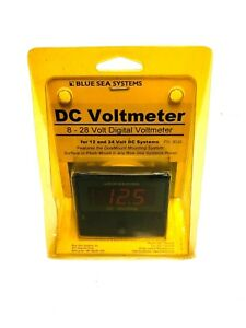 Blue Sea 8049 Digital Dc 8 28 Voltmeter For 12 24 Volt Dc Systems