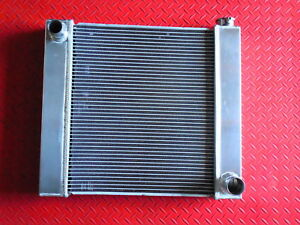 Universal Fabricated Chevy Aluminum Radiator 21 X 19 Pc210