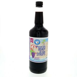 Hawaiian Shaved Ice Or Snow Cone Syrup Ready To Use Grape 32 Fl Oz