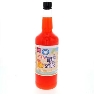 Hawaiian Shaved Ice Or Snow Cone Syrup Ready To Use Dreamcicle 32 Fl Oz