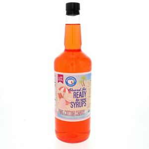 Snow Cone Or Hawaiian Shaved Ice Syrup Pink Cotton Candy Ready To Use Quart