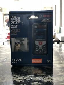 Laser Measure Bosch Blaze Glm42 135ft 40m 1 16 In 1 5mm