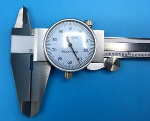 Igaging 8 001 Shock Proof Dial Caliper analog