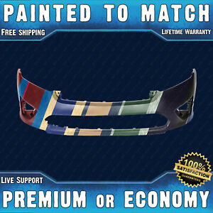 New Painted To Match Front Bumper Replacement For 2010 2012 Ford Fusion S Se Sel