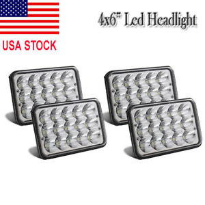 4pcs Square Led Combine Light Kit For John Deere 9500 9450 9410 9400 Sts Cts Sh