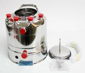 Alloy Products C530 4596 00 Stainless Steel 2 gallon Pressure Vessel New 6130