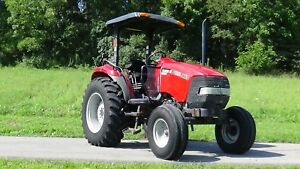 2004 Case Ih Jx65 Tractor With Canopy