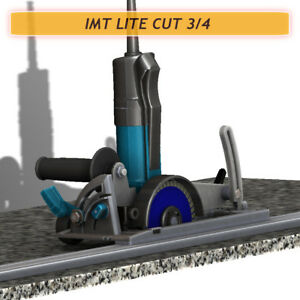Imt Lite Cut 3 4 Ip580s Wet Cutting Rail Saw For Cutting Granite