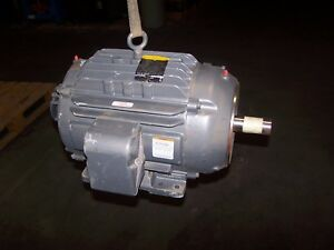 New Baldor 15 Hp Electric Ac Motor 230 460 Vac 1765 Rpm 254tc Frame 3 Phase