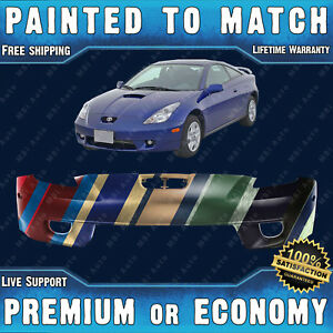 New Painted To Match Front Bumper Replacement For 2000 2002 Toyota Celica Coupe