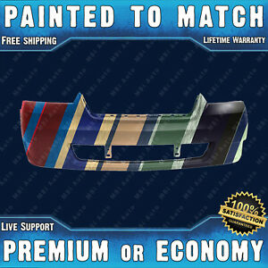 New Painted To Match Front Bumper Replacement For 2006 2007 2008 Chevy Malibu