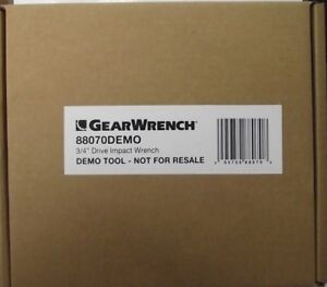 Gearwrench 88070 3 4 Composite Air Impact Wrench Demo Unit New