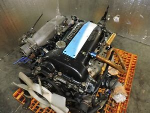 Nissan Silvia S14 200sx Blacktop Dohc Turbo Engine 5 Speed Trans Jdm Sr20det