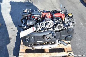 2015 15 Subaru Impreza Wrx Sti Engine Motor Assembly Ej257 2 5l Turbo