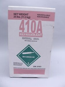 New Factory Sealed 25lb Freon 410a Refrigerant r410a