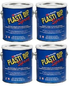 Performix Plasti Dip 10106s Hunter Green Rubber Spray Gallon 4 Pack
