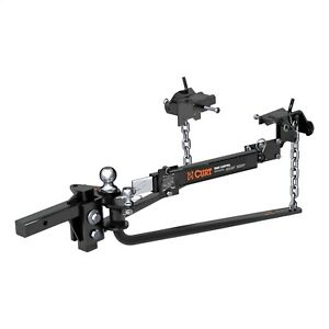 Curt 17063 Weight Distributing Hitch Bar 12 W 14000 Lbs Gtw Fits 2x2 Receiver