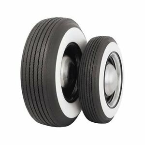 Set Of 4 Coker Classic Bias Ply Tires L78 15 Bias Ply 3 In Whitewall 62900