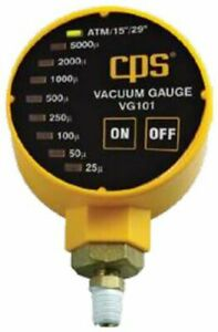 Cps Vg101 Vacuum Gauge W Led Display 1 8 Npt Thread Connection