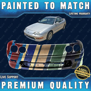 New Painted To Match Front Bumper Cover For 1998 2001 Acura Integra Sedan hatch